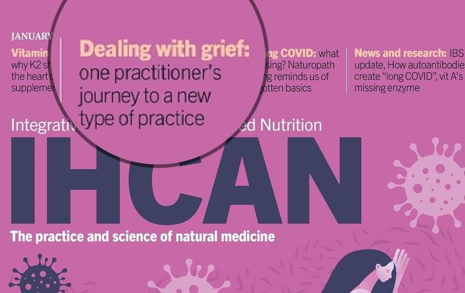 Grief IHCAN magazine