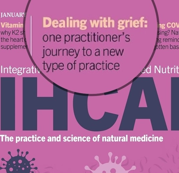IHCAN magazine cover