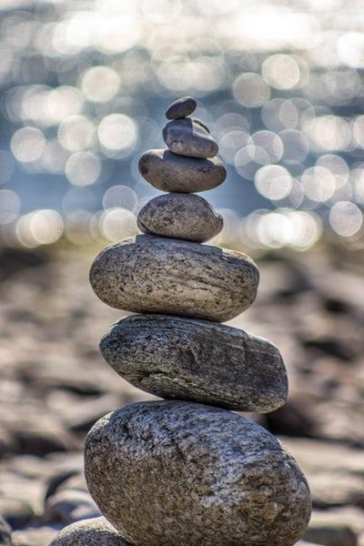 calm pebbles